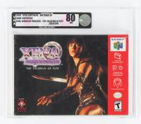 "1999 ""Xena: Warrior Princess-The Talisman of Fate"" Nintendo 64 Video Game (VGA 80) at PristineAuction.com"