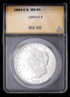 1884-O Morgan Silver Dollar (ANACS MS65) at PristineAuction.com