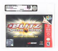 "2001 ""Blitz: Special Edition"" Nintendo 64 Video Game (VGA 80) at PristineAuction.com"