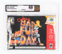 """2001 """"Conker's Bad Fur Day"""" Nintendo 64 Video Game (VGA 60) at PristineAuction.com"""