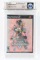 "2006 ""Kingdom Hearts II"" PlayStaion 2 Video Game (WATA 9.4) at PristineAuction.com"