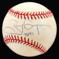 "Tony Gwynn Signed ONL Baseball Inscribed ""3141"" (JSA COA) at PristineAuction.com"