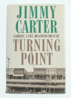 """Jimmy Carter Signed """"Turning Point"""" Hardcover Book (JSA COA) at PristineAuction.com"""