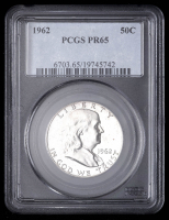 1962 50¢ Franklin Silver Half-Dollar (PCGS PR65) at PristineAuction.com