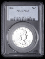1960 50¢ Franklin Silver Half-Dollar (PCGS PR65) at PristineAuction.com
