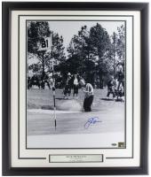 Jack Nicklaus Signed 22x27 Custom Framed Photo Display (Steiner Hologram & Nicklaus Hologram) at PristineAuction.com
