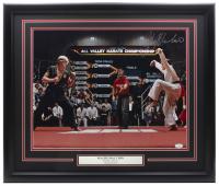"Ralph Macchio Signed ""The Karate Kid"" 22x29 Custom Framed Photo Display (JSA COA) at PristineAuction.com"