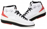 Michael Jordan Signed Pair of (2) Air Jordan II Basketball Shoes (PSA LOA) at PristineAuction.com