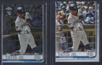 Lot of (2) Fernando Tatis Cards with 2019 Topps Chrome #54 RC & Topps Update #US56 RC at PristineAuction.com