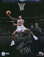 """Allen Iverson Signed 76ers 11x14 Photo Inscribed """"97 ROY"""" (Fanatics Hologram) at PristineAuction.com"""