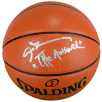 "Allen Iverson Signed NBA Game Ball Series Basketball Inscribed ""The Answer"" (Fanatics Hologram) at PristineAuction.com"