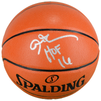 """Allen Iverson Signed NBA Game Ball Series Basketball Inscribed """"HOF 16"""" (Fanatics Hologram) at PristineAuction.com"""