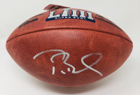"Tom Brady Signed ""The Duke"" Super Bowl LIII Official NFL Game Ball (Fanatics Hologram) at PristineAuction.com"