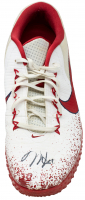 Pair of (2) Mike Trout Signed 2017 Angels Game-Used Baseball Cleats (Anderson LOA) at PristineAuction.com