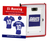 ELI MANNING 2004 NY GIANTS GAME WORN JERSEY MYSTERY SWATCH BOX! RC SEASON! at PristineAuction.com