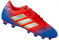 "Lionel Messi Signed Adidas Soccer Cleat Inscribed ""Leo"" (Icons COA) at PristineAuction.com"