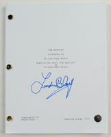 "Linda Blair Signed ""The Exorcist"" Movie Script (Legends COA) at PristineAuction.com"