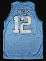 """Phil Ford Signed Jersey Inscribed """"78 POY"""" (PSA COA) at PristineAuction.com"""
