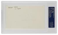 Roger Maris Signed Index Card (PSA Encapsulated) at PristineAuction.com