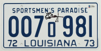 "Richard Dreyfuss Signed ""Jaws"" Louisiana License Plate (Beckett COA) at PristineAuction.com"