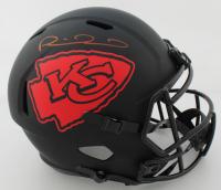 Patrick Mahomes II Signed Chiefs Full-Size Eclipse Alternate Speed Helmet (JSA COA) at PristineAuction.com