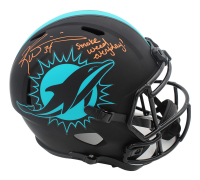 """Ricky Williams Signed Dolphins Full-Size Eclipse Alternate Speed Helmet Inscribed """"Smoke Weed Everyday!"""" (Radtke COA) at PristineAuction.com"""