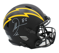 Antonio Gates Signed Chargers Full-Size Authentic On-Field Eclipse Alternate Speed Helmet (JSA Hologram) at PristineAuction.com