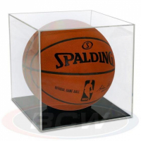 Deluxe Acrylic Full-Size Basketball Display Case - Grandstand at PristineAuction.com