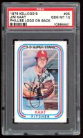 Jim Kaat 1976 Kellogg's #25B (Phillies Logo on Back) (PSA 10) at PristineAuction.com