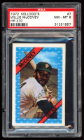 Willie McCovey 1972 Kellogg's #7 (PSA 8) at PristineAuction.com