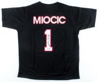 """Stipe Miocic Signed UFC Shirt Inscribed """"The Champ"""" (PSA COA) at PristineAuction.com"""