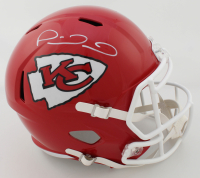 Patrick Mahomes II Signed Chiefs Full-Size Eclipse Alternate Speed Helmet (JSA COA) at PristineAuction.com