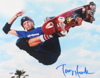 Tony Hawk Signed 11x14 Photo (PSA Hologram) at PristineAuction.com