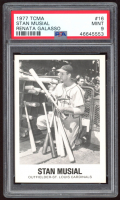 Stan Musial 1977-84 Galasso Glossy Greats #16 (PSA 9) at PristineAuction.com