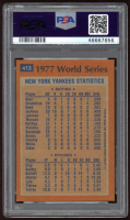 Reggie Jackson 1978 Topps #413 World Series (PSA 7) at PristineAuction.com