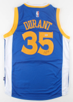 Kevin Durant Signed Warriors Jersey (PSA COA) at PristineAuction.com