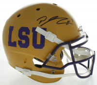 D. J. Chark Signed LSU Tigers Full-Size Authentic On-Field Hydro-Dipped Helmet (Beckett COA) at PristineAuction.com