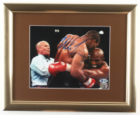 Mike Tyson Signed 13x16 Custom Framed Photo Display (Beckett COA & Fiterman Sports Hologram) at PristineAuction.com