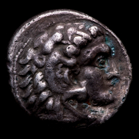 """Alexander III """"the Great"""" 336-323 B.C. Kingdom of Macedon AR Tetradrachm Ancient Greek Silver Coin at PristineAuction.com"""
