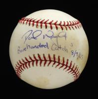 "David Wright Signed OML Baseball Inscribed ""Barehanded Catch 8/9/05"" (JSA COA) at PristineAuction.com"