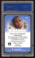 DaJuan Wagner 2002-03 Hoops Hot Prospects Hot Materials #36 Proof (PSA Authentic) at PristineAuction.com