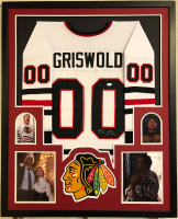 Chevy Chase Signed 34x42 Custom Framed Jersey (Beckett COA) at PristineAuction.com