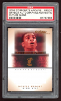 Dorell Wright 2004-05 SkyBox Autographics Future Signs Autographs #DW Proof (PSA Authentic) at PristineAuction.com