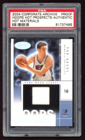 Pau Gasol 2004-05 Hoops Hot Prospects Hot Materials #PG Proof (PSA Authentic) at PristineAuction.com
