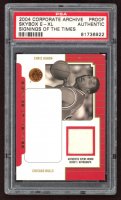 Chirs Duhon 2004 Skybox E-XL Corporate Archive Signings of the Times Proof (PSA Authentic) at PristineAuction.com