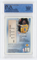 Kobe Bryant 1996-97 Finest #74 B RC (PSA 9) at PristineAuction.com