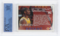 Kobe Bryant 1996-97 Topps NBA at 50 #138 (PSA 8) at PristineAuction.com