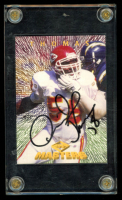 Derrick Thomas Signed 1997 Collector's Edge Masters #136 Football Card (JSA ALOA) at PristineAuction.com