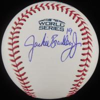 Jackie Bradley Jr. Signed 2018 World Series Baseball (JSA COA) at PristineAuction.com