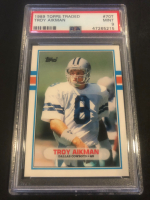 Troy Aikman 1989 Topps Traded #70T RC (PSA 9) at PristineAuction.com